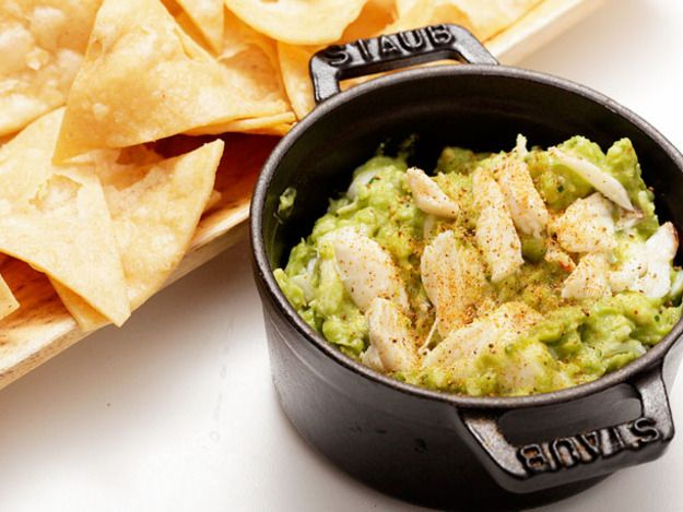 Guacamole with Old Bay and Crab- Momma hates avo, but she loves crab ...