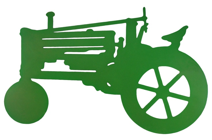 ... Vector Old john deere tractor silhouette clip art further tractor