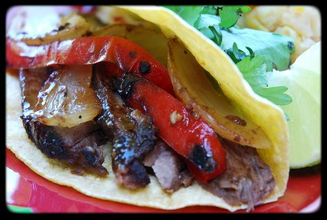 steak fajitas (marinade) | Food | Pinterest