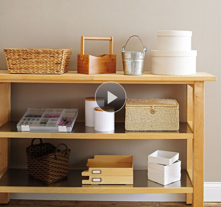 Get Organized With Storage Containers