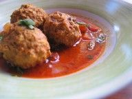 Kofta Meatballs with Okra Tomato Sauce « Chef Marcus Samuelsson