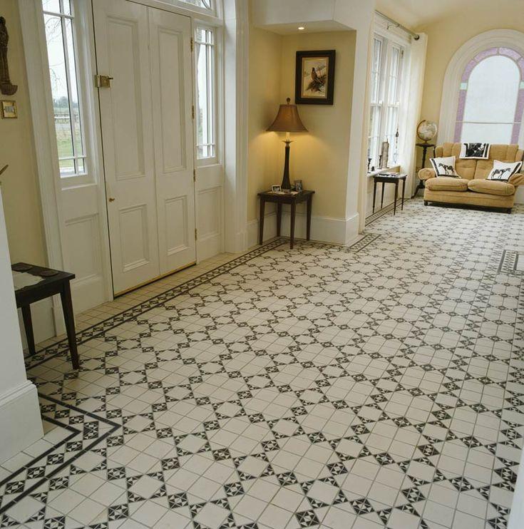Victorian Floor Bathroom Flooring Pinterest