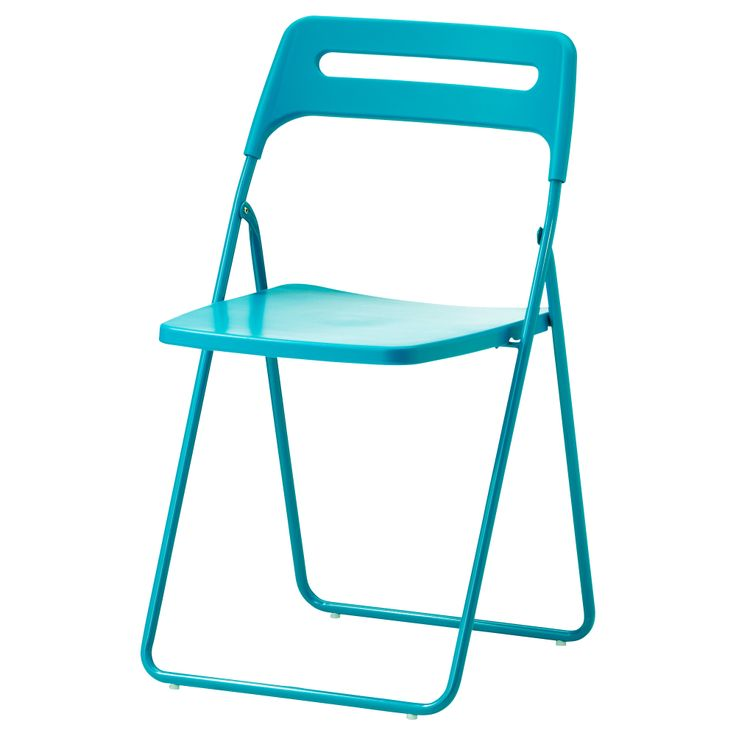 NISSE Folding chair blue $12 99 kitchen