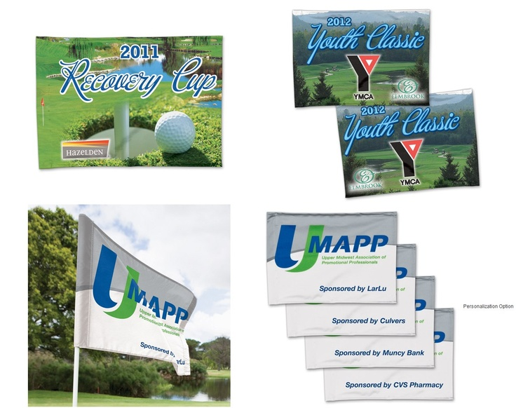 Custom Golf Flags for your #GolfTournaments & #Fundraisers.