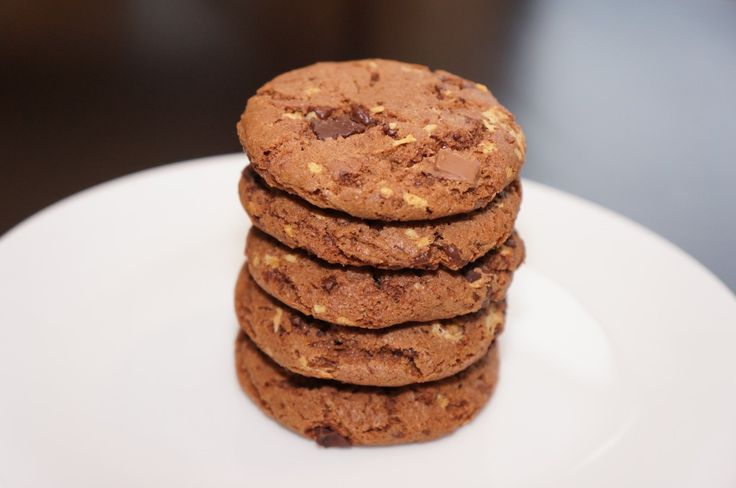 Chocolate Malted Crunch Cookies, my ode to a Thrifty's ice cream cone