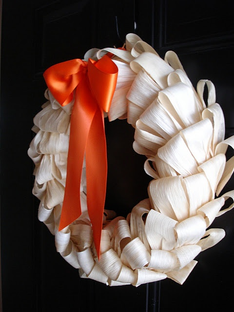 Corn stalk wreath
