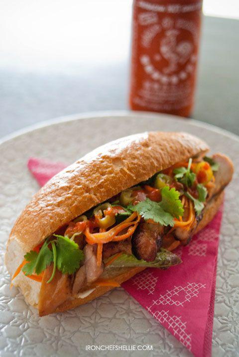 Banh Mi (Vietnamese Chicken Rolls) | Food & Eating Healthy | Pinterest