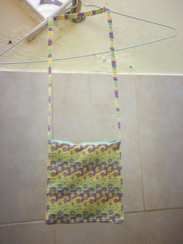 Tapestry Crochet Bag : Tapestry Crochet Bag Work with the YARN!! Pinterest