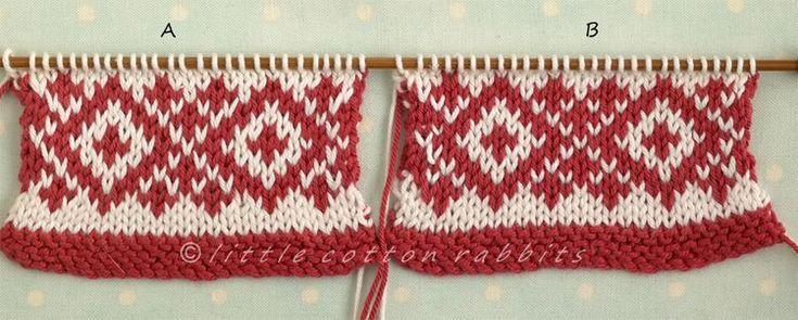 Fair Isle Knitting Tips : Tips fair isle knitting more than color pinterest