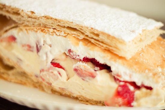 Strawberry Napoleon | Dessert :) | Pinterest