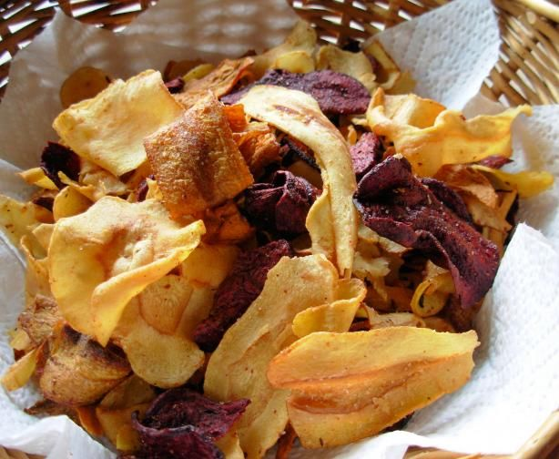... De Sel and Make your own Beetroot, Carrot and Parsnip Crisps (Chips