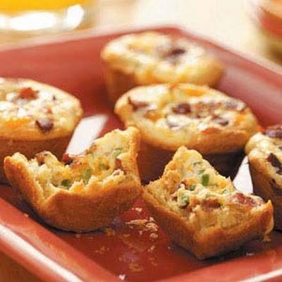 Bacon Quiche Tarts Recipe | Recipes | Pinterest