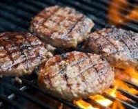 Grilled Turkey Cutlets--allergy free for me as long as I don't cook ...