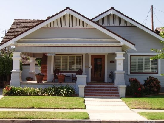 American Craftsman Bungalow For The Home Pinterest