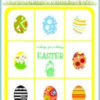 REPIN and LIKE Printable Easter Eggs Bingo Card Number 2 ...: pinterest.com/pin/145733737914261007