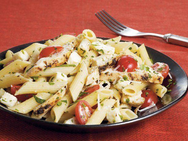 Chicken and Fresh Mozzarella Pasta | Recipe
