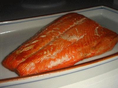Salmon Shioyaki (Japanese Salt-broiled Salmon)