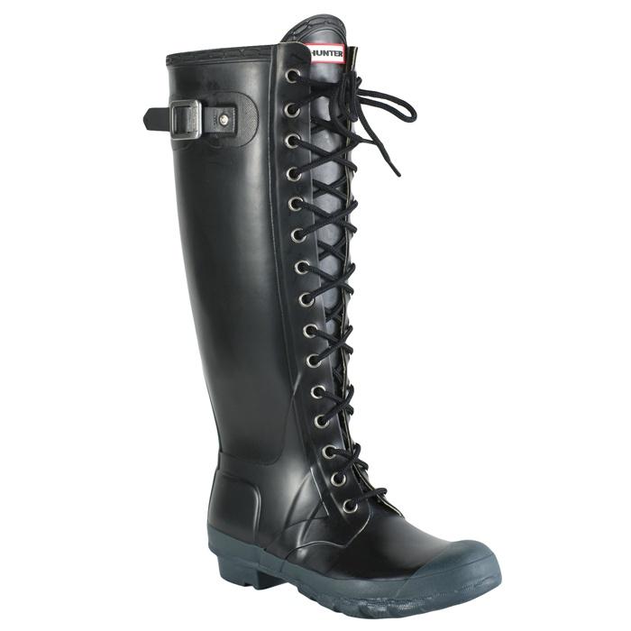 Hunter watling lace up full knee boot fashion pinterest