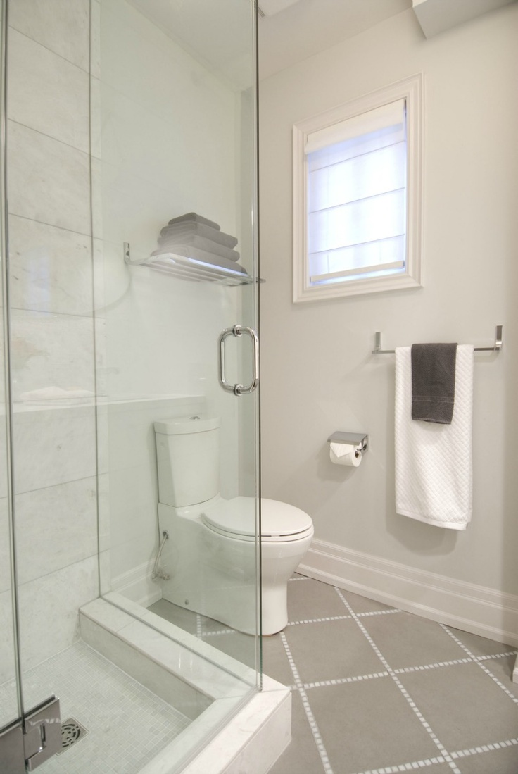 new bathroom with heated floors and glass shower enclosure hgtv 39 s