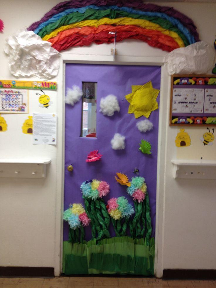 Spring Classroom Door   Classroom Doors   Pinterest