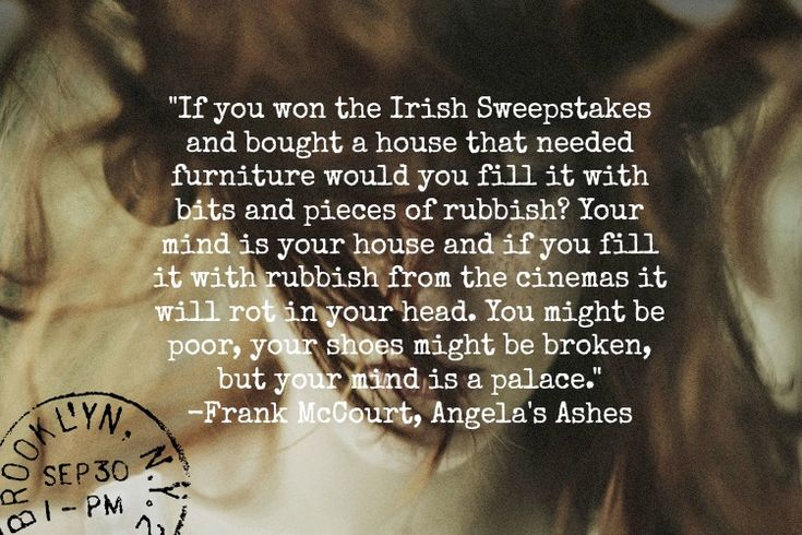 quotations from angela s ashes Angela's ashes: a memoir is a 1996 memoir by the irish-american author frank mccourt, with various anecdotes and stories of his childhood it details his very early.