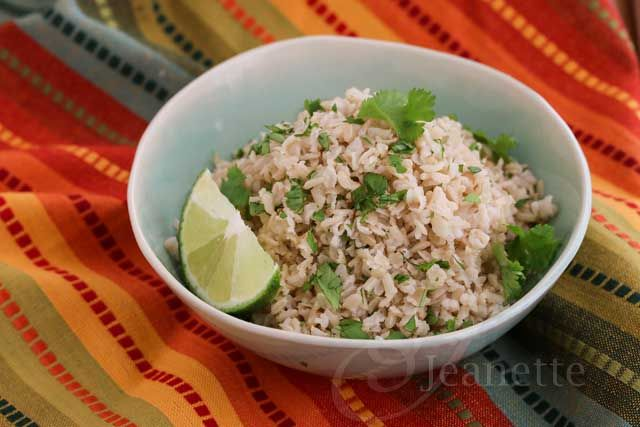 Chipotle Style Cilantro Lime Brown Rice 2 cups long grain brown rice 1 ...