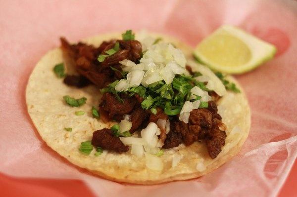 Taqueria Mixteca - really good guacamole and it's super cheap