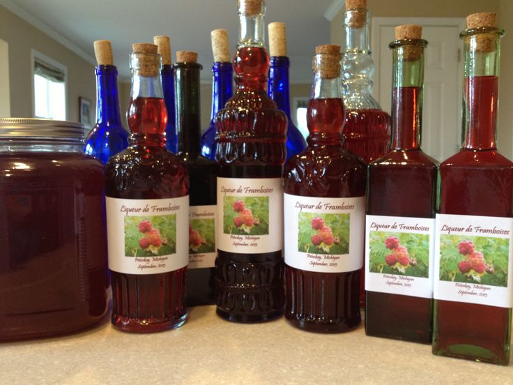Homemade Raspberry Liqueur Recipe — Dishmaps