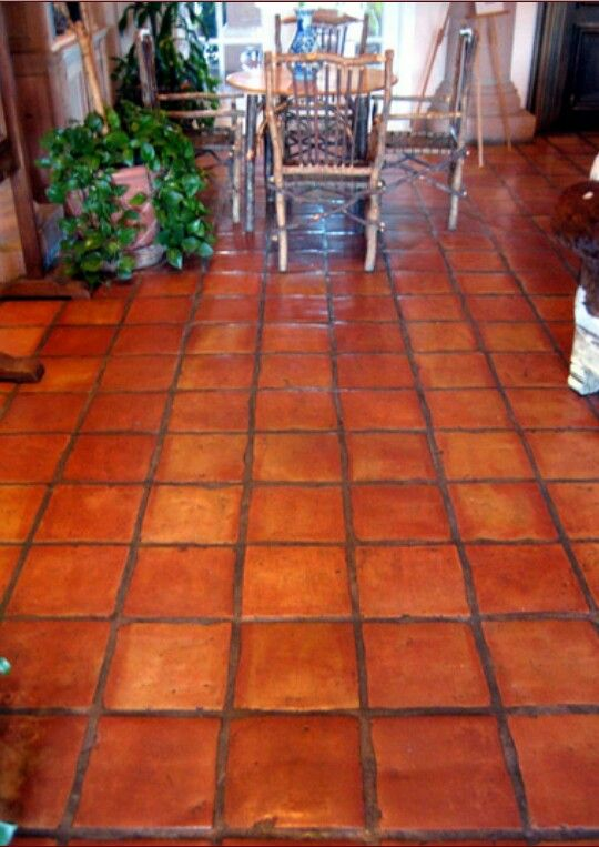 Saltillo tiles beautiful spanish style home pinterest for Floors of the house in spanish