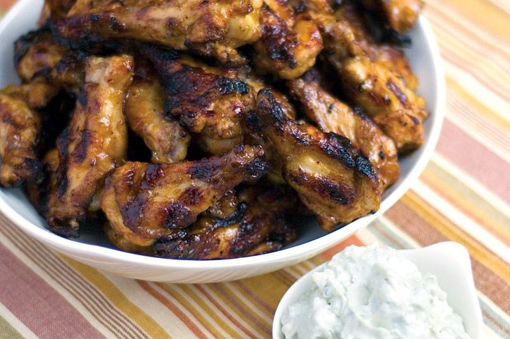 Peach Bourbon Habanero Hot Wings | Stuff to Snack On | Pinterest