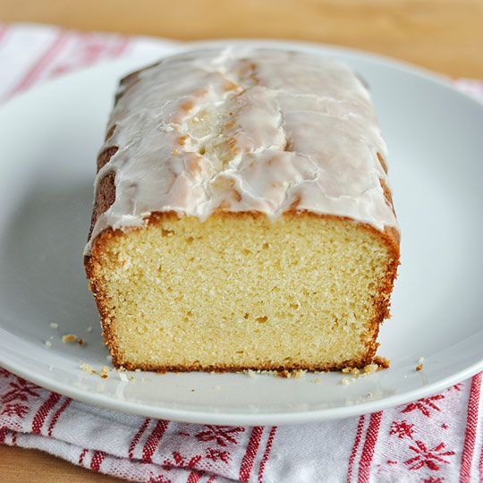 Eggnog loaf cake (maybe in mini-loaf pans in my mailman and UPS guys ...