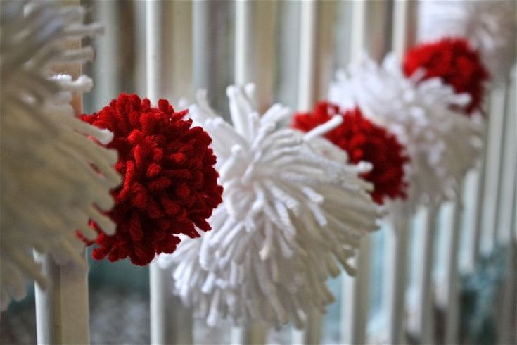 valentine yarn heart craft