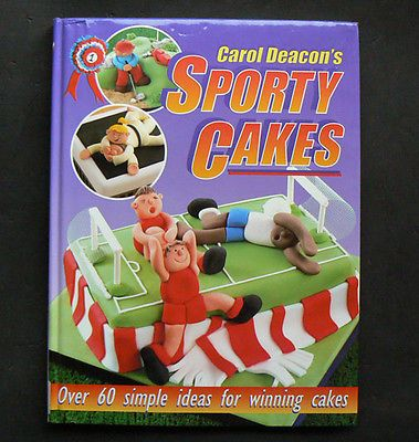 SPORTY CAKES Cake Decorating Cricket Tennis Fishing Football Golf Sno