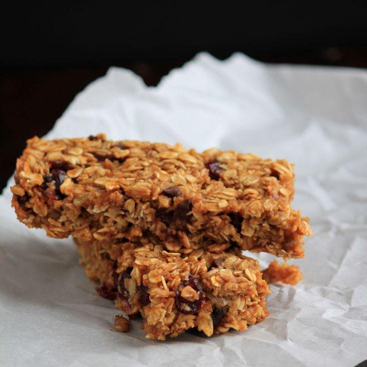 Pumpkin Granola Bars | healthy snacks | Pinterest