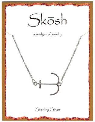 Engravables - Silver Anchor Necklace by Skosh, $32.99 (http://www