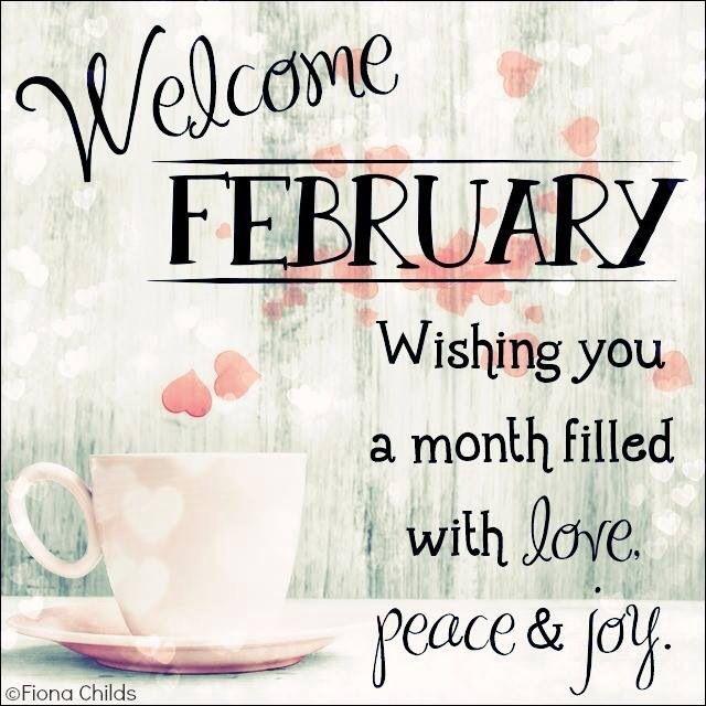Hello February...