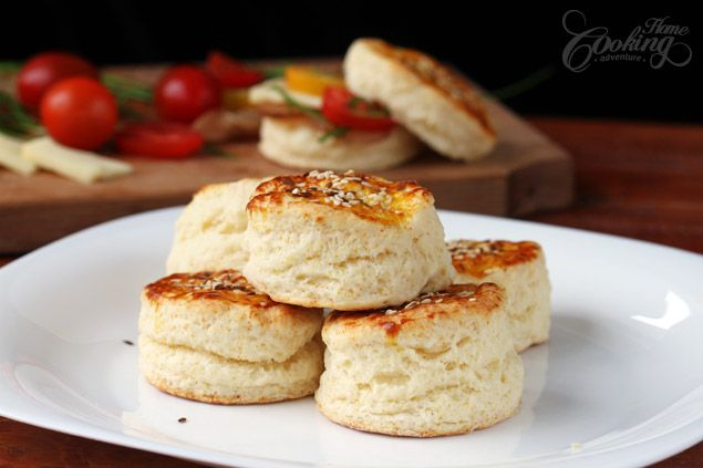 Flaky Buttermilk Biscuits :: Home Cooking Adventure