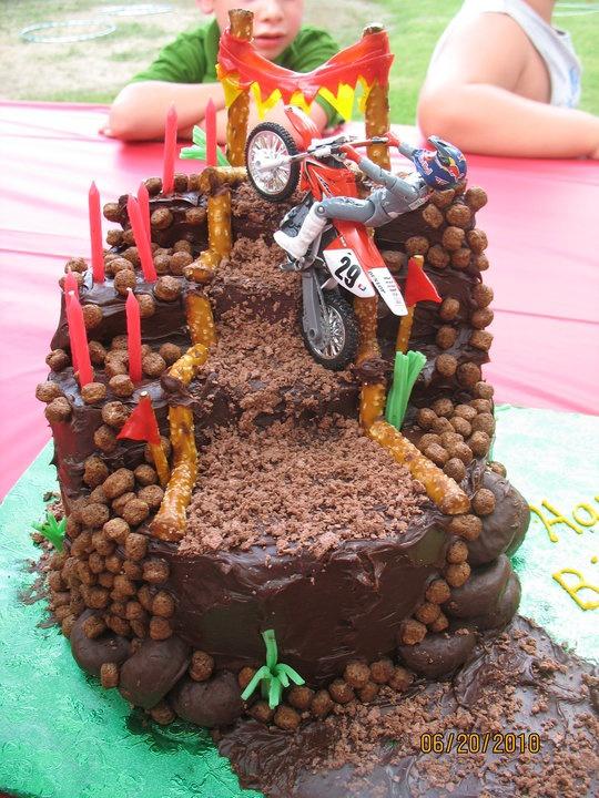 dirt bike cake - photo #39