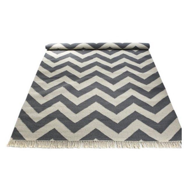 Chevron Rug Grey White Living Room Ideas Pinterest