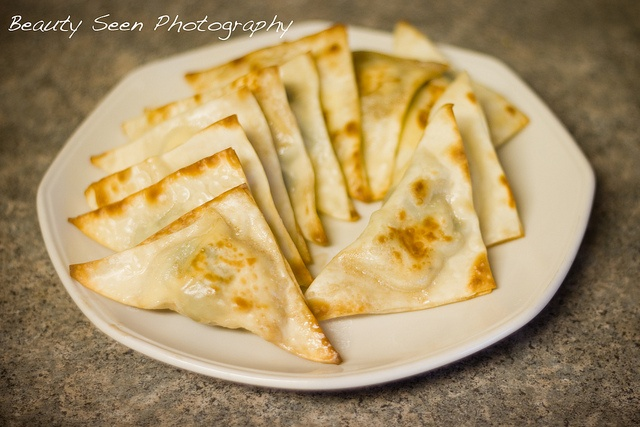 Baked Cream Cheese Won Tons #healthier #wontons #baked