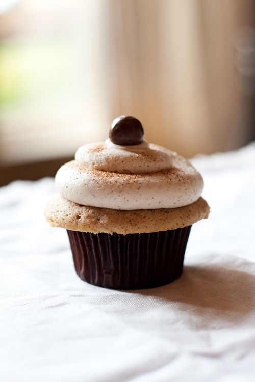 snickerdoodle cupcakes | Sweet Shop | Pinterest