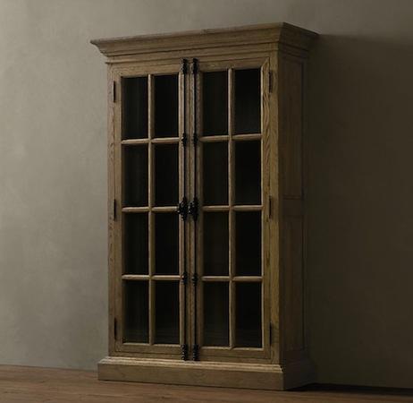Restoration hardware cabinet cabin in colorado pinterest - Restoration hardware cabinets ...