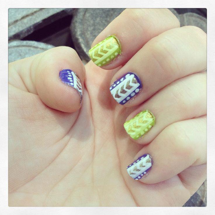 Easy, super cute Nail design!!! | Nails Nails Nails ...
