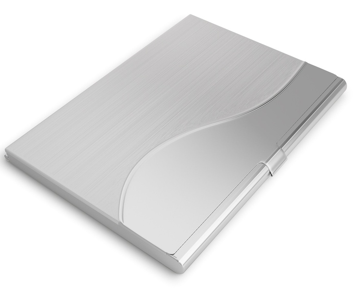 Sleek business card holder for men