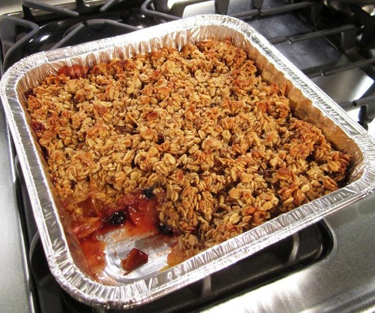 peach/blueberry crisp | Sweet Treats | Pinterest