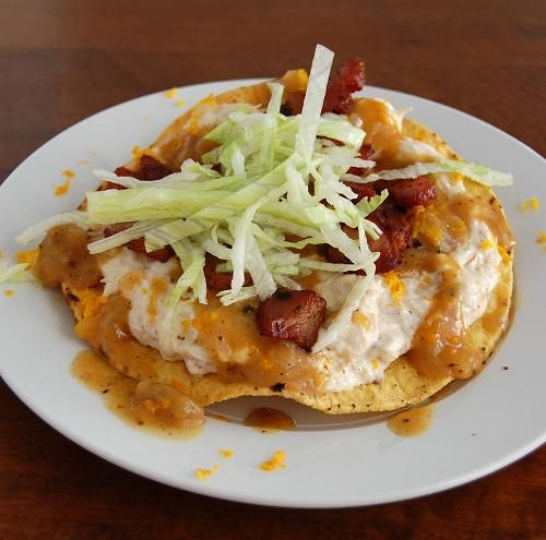 Crab Tostadas Recipe — Dishmaps