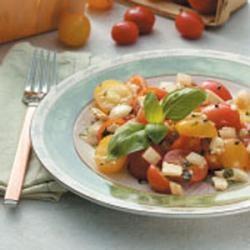 Tomato Feta Salad recipe Allrecipes.com | SALAD RECIPES ...