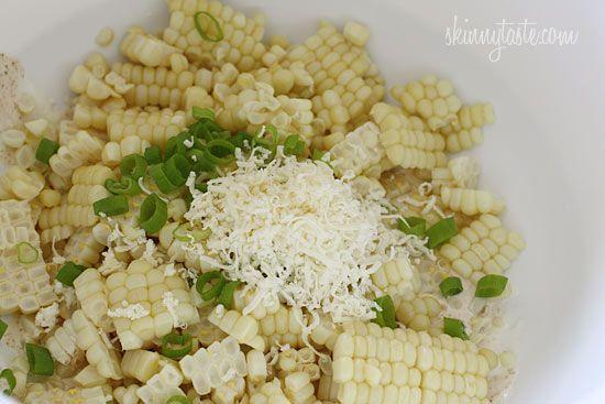 Warm Mexican Corn Salad | Skinnytaste