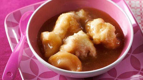 ... pomme et à l'érable | Great-grandparent Dumplings with Maple Syrup