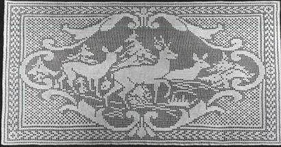 Filet Crochet Name Doily - Instructables.com